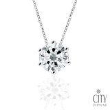 City Diamond 『夏日棉花糖』 K金項鍊