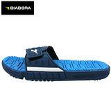 Diadora Q彈運動拖鞋-寶藍色(25~29cm)
