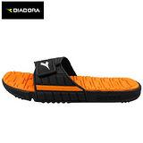 Diadora Q彈運動拖鞋-黑桔色(25~29cm)