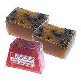 《菠丹妮》玫瑰&小黃瓜手工皂125g一入+蜂蜜手工皂80g 二入