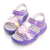 【Snoopy 史努比】 輕量休閒運動涼鞋 513125-紫