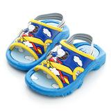 【Snoopy 史努比】 輕量舒適休閒拖鞋(16-18無後拉帶) 513176-藍