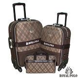 【ROYAL POLO皇家保羅】25+29吋+旅行袋-雋永格紋旅行箱/行李箱/拉桿箱