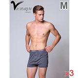 ★3件超值組★VICTORYH 全棉針織平口褲M
