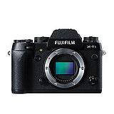 FUJIFILM X-T1 Body 黑色 單機身(中文平輸) - 加送SD64GC10記憶卡+專屬鋰電池+單眼相機包+專屬拭鏡筆+強力大吹球+細毛刷+拭鏡布+相機清潔組+硬式保護貼