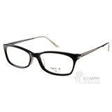 agnes b.光學眼鏡 百搭基本款(黑) #AB2098 BCA