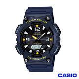 CASIO卡西歐 光動能優質雙顯時尚腕錶-藍 AQ-S810W-2A