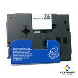 台灣榮工 BROTHER 相容 護貝 標籤帶 TZ-241 (白底黑字 18mm)