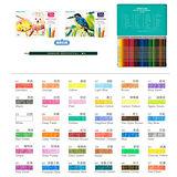 【雄獅 SIMBALION】WP-36 水彩色鉛筆/鐵盒 (36色組)