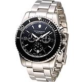 Victorinox Maverick 維氏野戰部隊計時腕錶 VISA-241695 黑