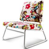 MY傢俬 彩漾花卉布面休閒椅