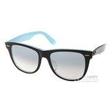 RAY BAN 太陽眼鏡 Wayfarer(水藍) #RB2140F 10013F-52mm