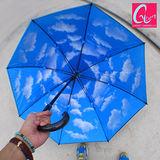 Carry 超大傘面天空直傘