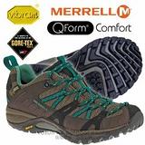 【美國 MERRELL】女新款 SIREN SPORT GORE-TEX 多功能郊山健走鞋 藍綠色 ML21436