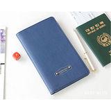 DF Queenin-韓版高質感多卡式護照夾-共4色