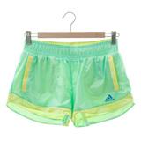 adidas(男)運動短褲-綠-A96349