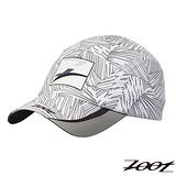 2015 ZOOT 頂級極致型COOLMAX反光型運動跑帽 遮陽帽 (棕梠白) Z1502005