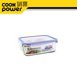 鍋寶微波耐熱玻璃保鮮盒400ML-BVC-0401