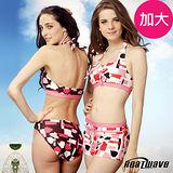 【Heatwave熱浪】亮麗時尚 加大萊克三件式泳裝-81552