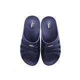 母子鱷魚 輕量氣墊拖男款BN5127-藍色(25~28cm)
