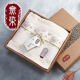 【無染】惜福薔薇毛巾禮盒(薔薇浴巾x1)
