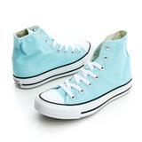 CONVERSE(女)Chuck Taylor All Star 帆布鞋(高統)-天空藍-148699C