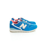 New Balance(男/女)經典慢跑鞋-藍-MRL996GA