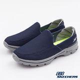 SKECHERS (男) 健走系列 GOwalk 3 - 53980NVGY