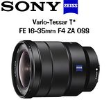 SONY 卡爾蔡司 Vario-Tessar T* FE 16-35mm F4 ZA OSS (平輸) -送B+W 72mm MRC UV 多層度膜保護鏡