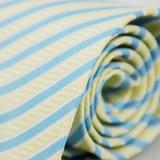 【雅派Alpaca】黃藍斜紋領帶