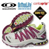 【索羅門 SALOMON】女 XA PRO 3D ULTRA 2 Gore-Tex 防水透氣越野跑步運動鞋 紫/白 361943