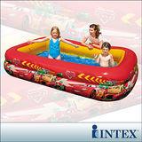 【INTEX】CARS迪士尼卡通長方型游泳池 (749L)
