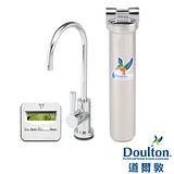 【DOULTON英國道爾敦】陶瓷濾芯顯示型單管不鏽鋼櫥下型淨水器 HIS-M12