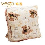 【Vega唯家】奈米遠紅外線兒童睡袋(米白小熊款)
