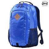 【GMT 挪威潮流品牌】專業電腦背包 寶藍 附15吋筆電夾層;登山包/雙肩背包