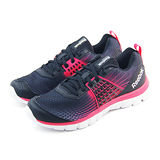 (女)REEBOK Z DUAL RUSH 慢跑鞋 黑/螢光桃紅-M47684