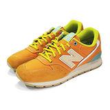 (男女)NEW BALANCE 復古鞋 橘黃-MRL996GD