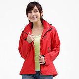 【遊遍天下】Globetex防水透濕機能外套(輕薄型)G101紅