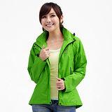 【遊遍天下】Globetex防水透濕機能外套(輕薄型)G101草綠