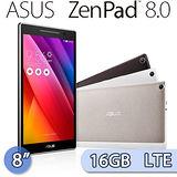 ASUS 華碩 ZenPad 8.0 16GB LTE版 (Z380KL) 8吋 八核心可通話平板電腦(黑)