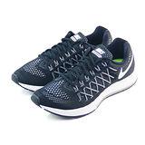 (男)NIKE AIR ZOOM PEGASUS 32 慢跑鞋 黑/白-749340001