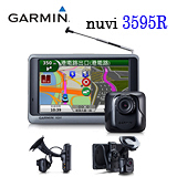 GARMIN nuvi 3595R 五吋/藍U牙/聲控/數位電視+行車紀錄器+衛星導航機