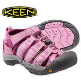 【KEEN】NEWPORT H2 新款 兒童涼鞋 透氣快乾專業登山健行護趾涼鞋.涼拖鞋.抗菌 粉紅/紫紅 1012315