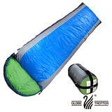 【遊遍天下】休閒保暖防風防潑水羽毛絨睡袋F1000