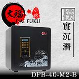 【大福】 新小結 系列40保險箱-黑