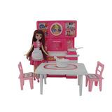豪華盒裝娃娃廚房辦家家酒組(ST)