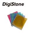 DigiStone單片超薄CD/DVD硬殼收納盒/五彩 50PCS