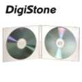 DigiStone 2片裝軟殼收納盒/白色透明 50PCS