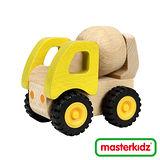 【Masterkidz】木制水混凝土車玩具