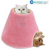 日本Marukan圓柱型2way貓咪多功能遊戲屋 睡床CT-250
